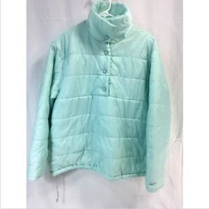 NIKE POLY FILL PUFFER PULLOVER LIGHTWEIGHT Coat
